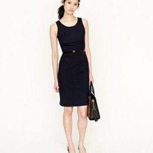 NWT J.Crew Emmaleigh Wool Black Dress